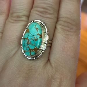 Jewelry - Sterling Silver Turquoise Ring